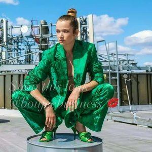 H&M Jacquard Patterned Blazer